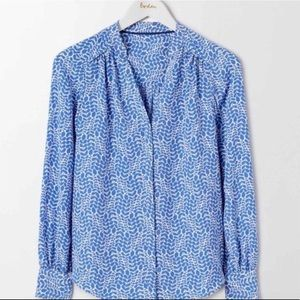 BODEN stylish button up top size 16